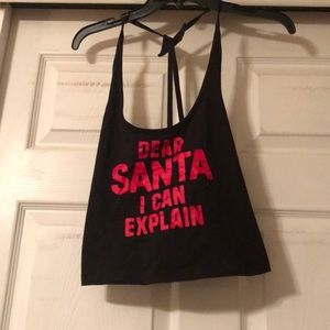 Victoria's Secret Dear Santa I Can Explain size L